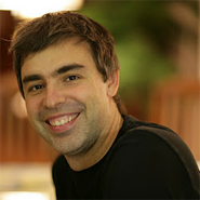 Google's CEO, Larry Page